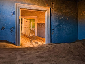 Kolmanskop, in the Namib Desert