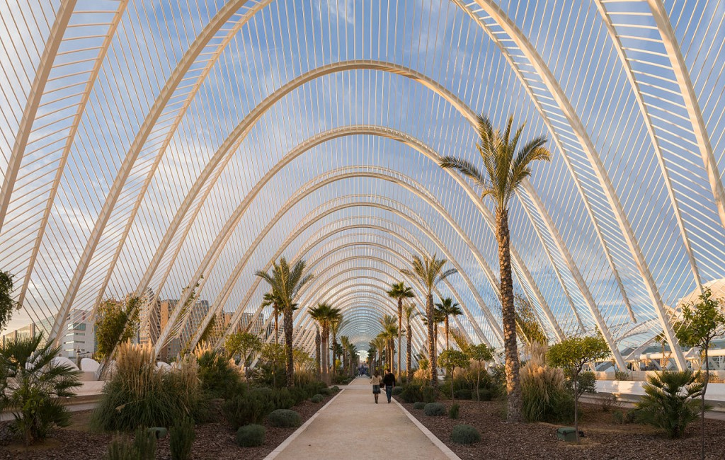 L'Umbracle City of Arts and Sciences Valencia Spain