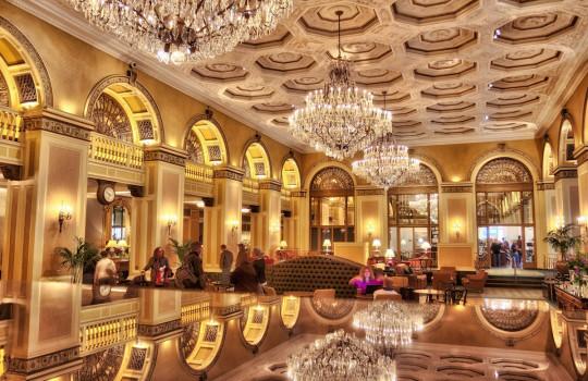 Lobby of William Penn Hotel Pittsburgh Southpaw film locations