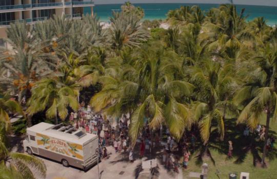 Miami Beach, Florida in Chef (2014)