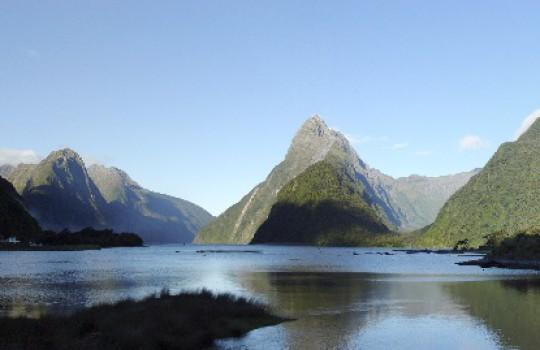 Milford Sound, Fiordland, New-Zealand
