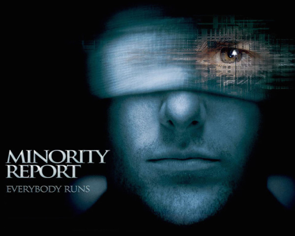 Minority Report Cover Eye bandage Tom Cruise