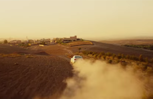 Morocco in Mission Impossible Rogue Nation 2015