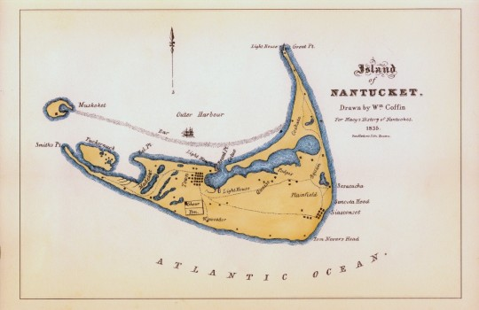 Nantucket Map 1835