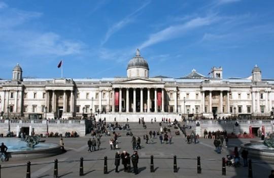 National Gallery, Trafalgar Square, London, United Kingdom | Skyfall filming locations LegendaryTrips