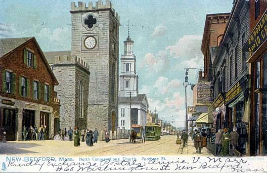 New Bedford 1904 Century Illustration