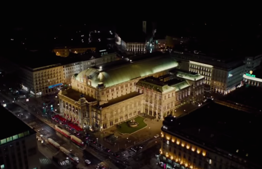 Vienna State Opera, Austria Mission Impossible Rogue Nation filming locations (2015)