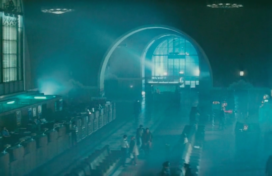 Police Station (Los Angeles' Union Station) in Blade Runner