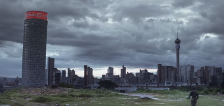 Ponte City Apartments Johannesburg South Africa Chappie filming location 2015