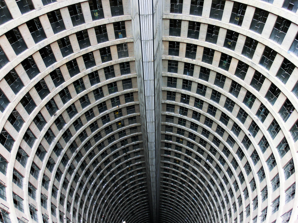 Ponte City's 'Core', Johannesburg, South Africa