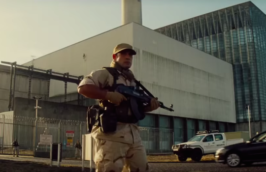 Fawley Power Station (England), Moroccan power plant, Mission Impossible Rogue Nation filming locations