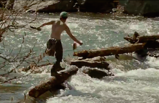 River scene, Alaska (Into the Wild, 2007)