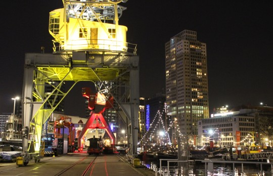 Rotterdam Harbor Night, Netherlands, 24 hours in Rotterdam itinerary LegendaryTrips
