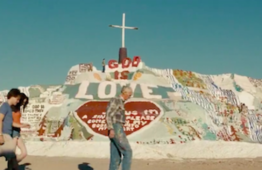 Salvation Mountain, Calipatria, California (Into the Wild, 2007)