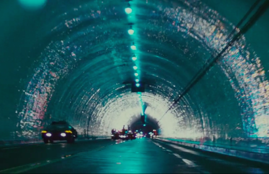 Second Street Tunnel in Blade Runner (1982)