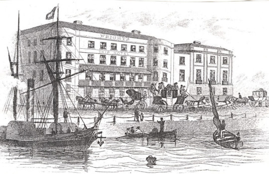 Ship Hotel, Royal George Hotel, Dover, England