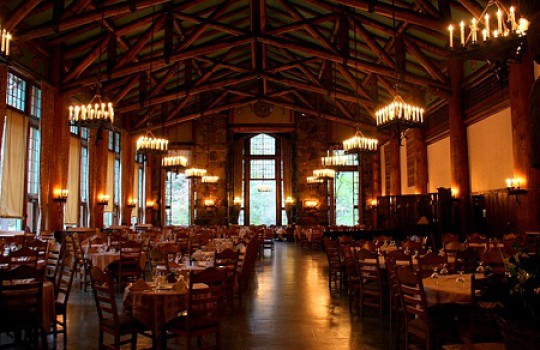 The Shining Filming Locations Ahwahnee Hotel Yosemite Park California
