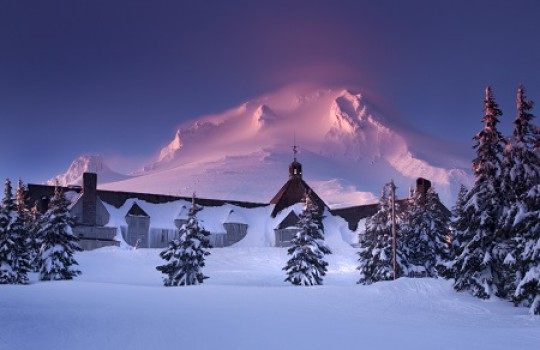 The Shining Filming Locations Timberline Lodge Mount Oregon
