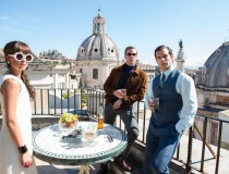 The Man from U.N.C.L.E. filming locations in Italy and United Kingdom