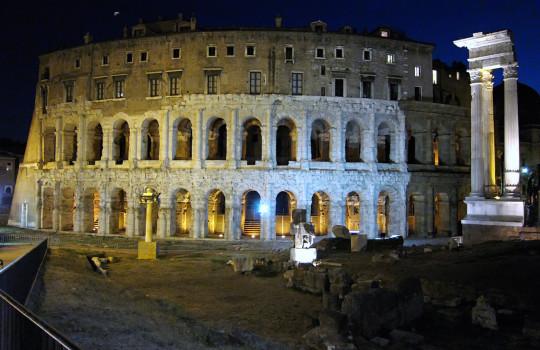 Theatre of Marcellus (Teatro di Marcello), Rome, Italy