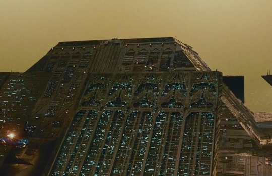 Tyrell Corporation building in Blade Runner (1982)