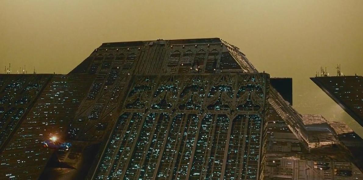 Blade Runner Apartment Building