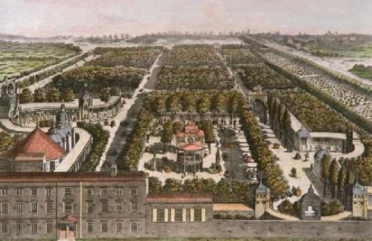 Vauxhall Gardens Samuel Wale painting 1751