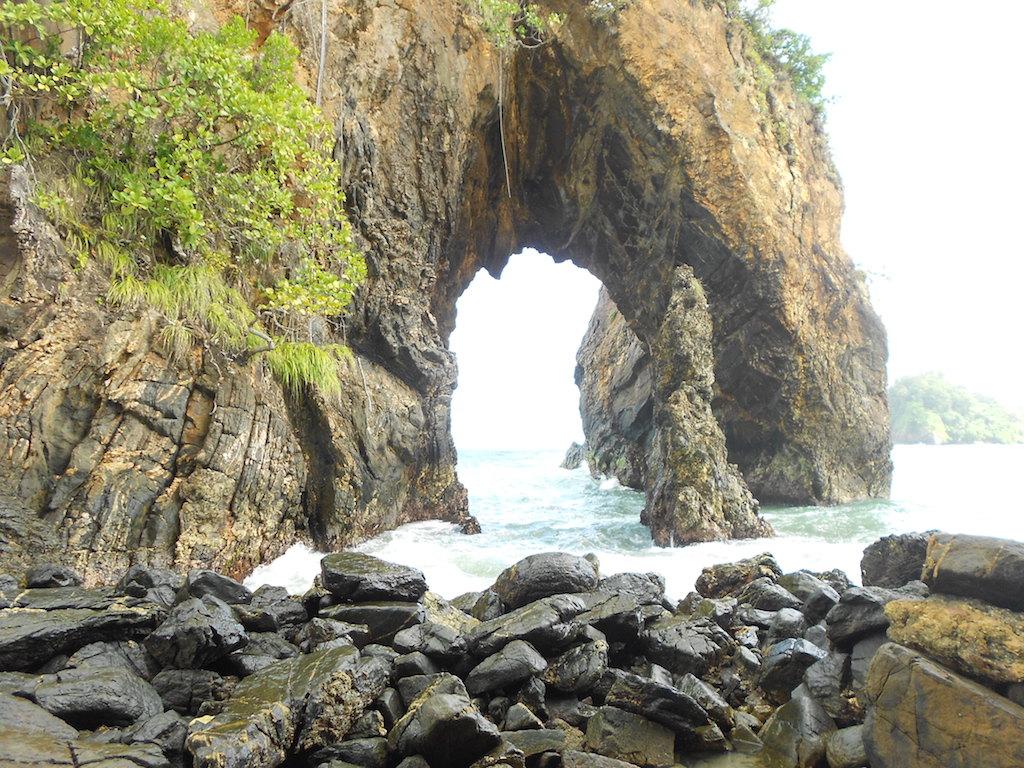 Hiking Paria Bay, Sea - Trinidad and Tobago