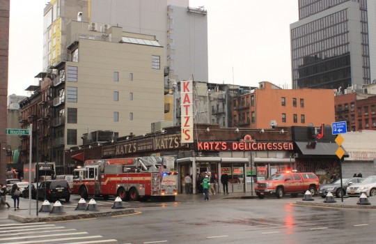 Katz's Deli, West Village, New York
