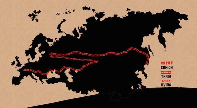 C'est assez bien d'être fou /  It's quite good being crazy map